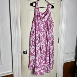 Other - Sleepwear dress womens 5X euc pink